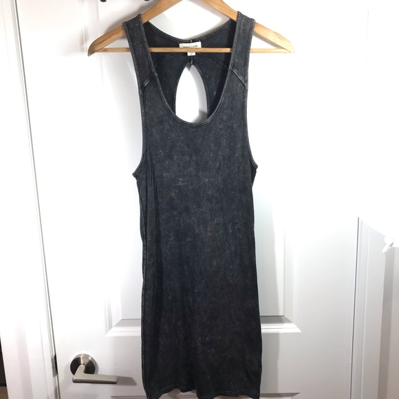 silence + noise Dresses & Skirts - Silence + Noise Charcoal Bodycon Medium Dress